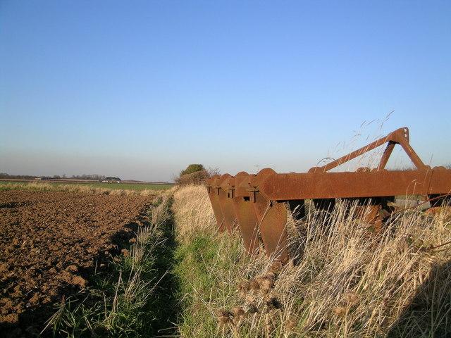 Rusting Farm Machinery
