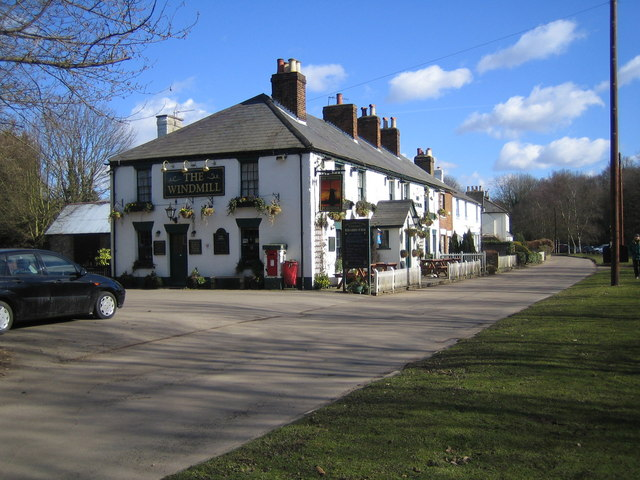 Chipperfield: The Windmill Public House