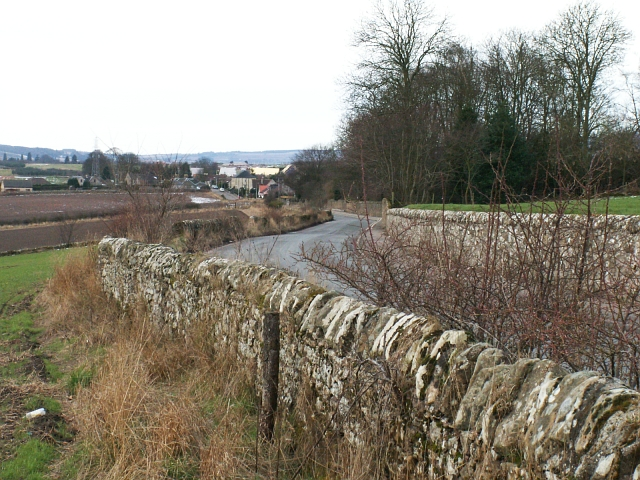Cupar Muir from the edge of Cupar