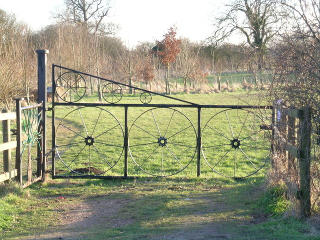 Gateway to Orston Millennium Green