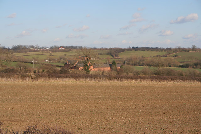 Farmland near Sileby