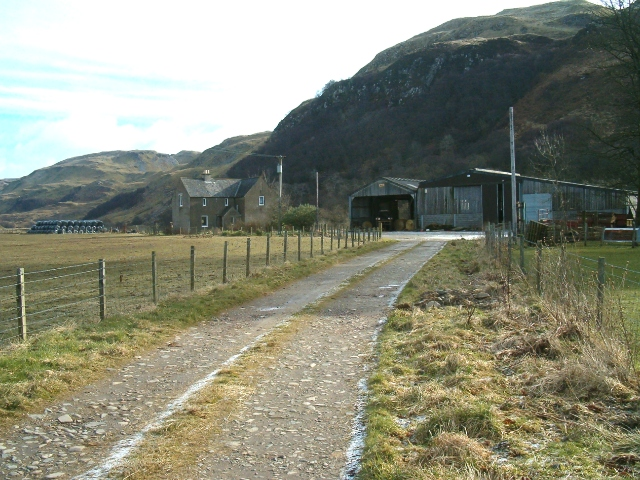 Turnalt Farm and Meall Buidhe