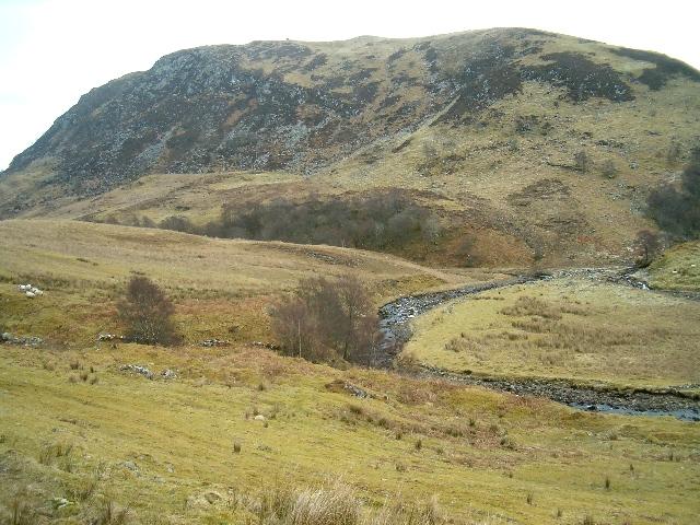 Barbreck River in Gleann Domhain