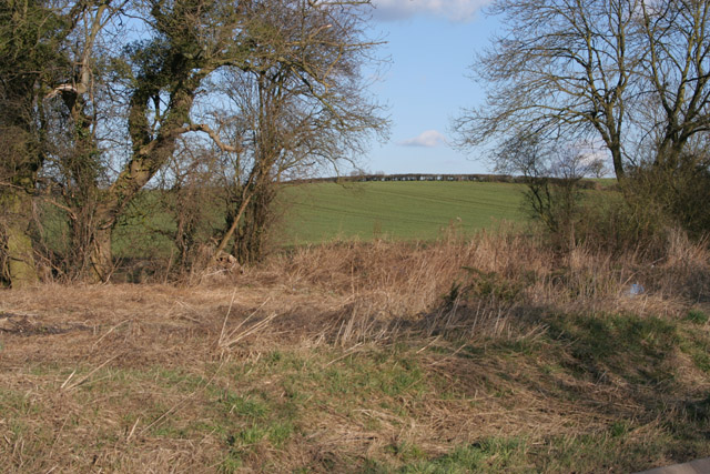 Farmland near Walton on the Wolds