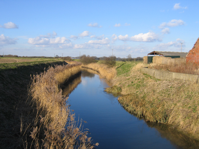 Skerth Drain, Swineshead-Algarkirk Fen, Lincs