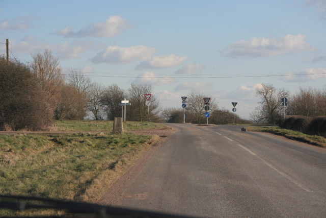 Paudy Crossroads near Seagrave