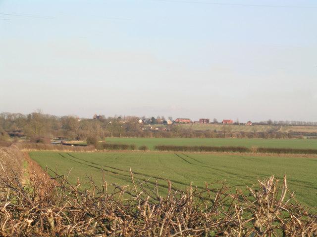 Speller Hill towards Orston
