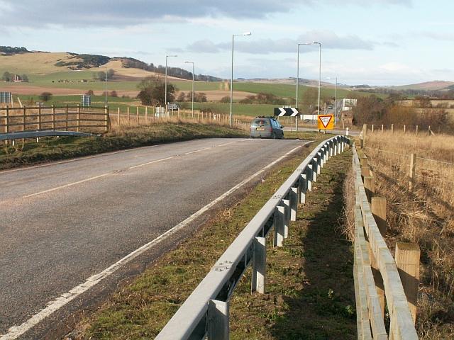 Parbroath crossroads