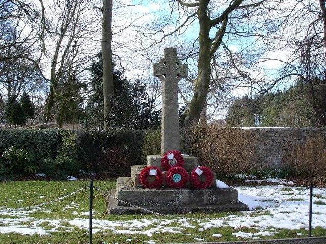 Nannerch war memorial