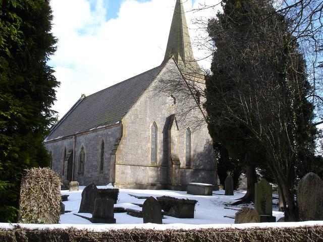 Nannerch village church