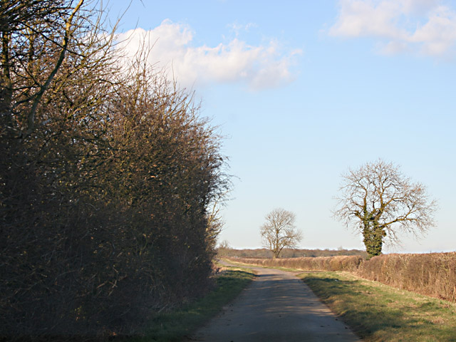 Berrycott Lane between Seagrave and Six Hills