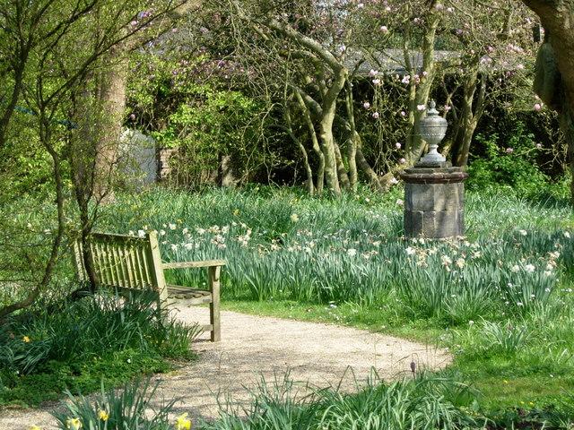 Nymans Garden-Ode to a Grecian Urn.