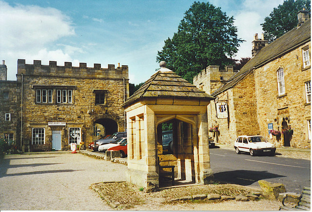 The Square, Blanchland.