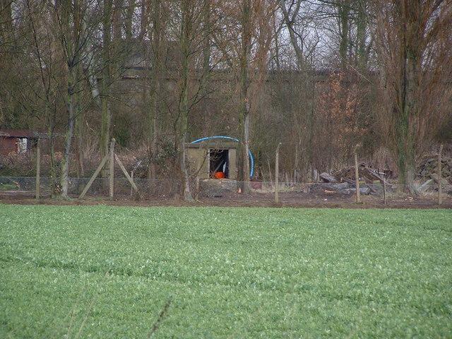 RAF Langtoft Bunker and buildings