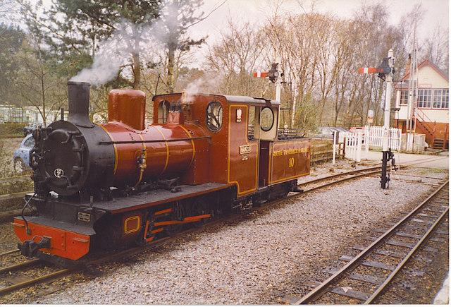 South Tynedale Railway Engine, Alston.