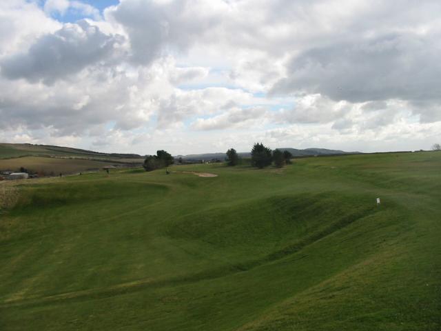 Golf course, West Bay/ Burton