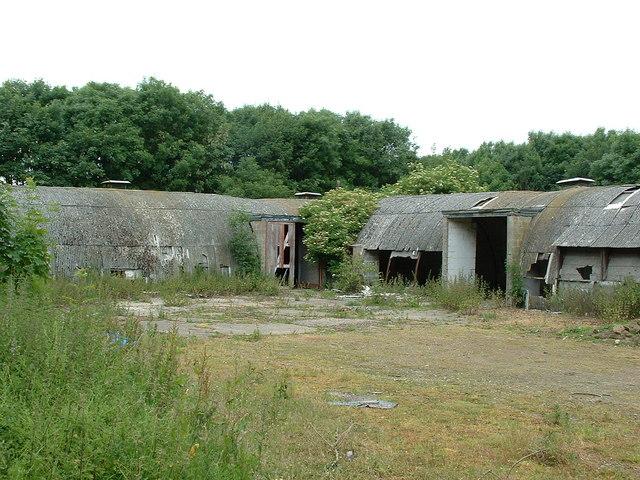 RAF Buildings Technical Site, RAF Melton Mowbray