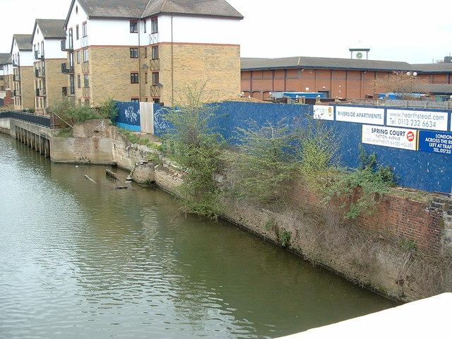 Former wharf at Peterborough