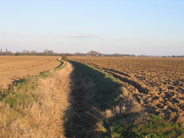 View of Kirton Meeres, Lincs