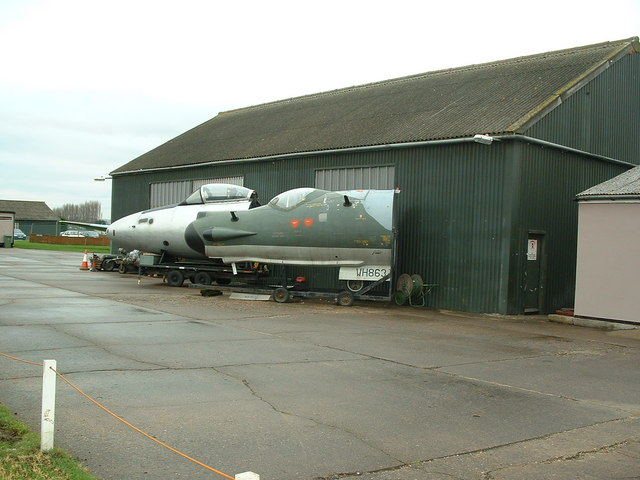 Newark Air Museum buildings