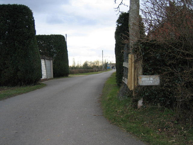 Access to Upper Mill Farm Somerford Keynes