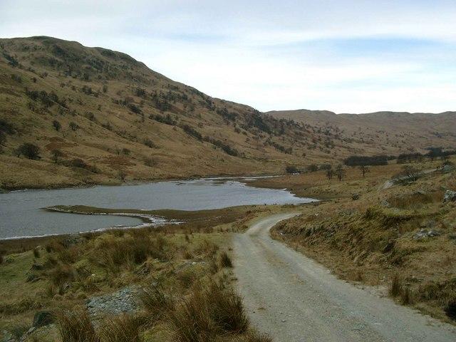 Head of the Glen Finglas Reservoir
