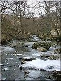 NN4911 : Frozen Finglas Water by Gordon Brown