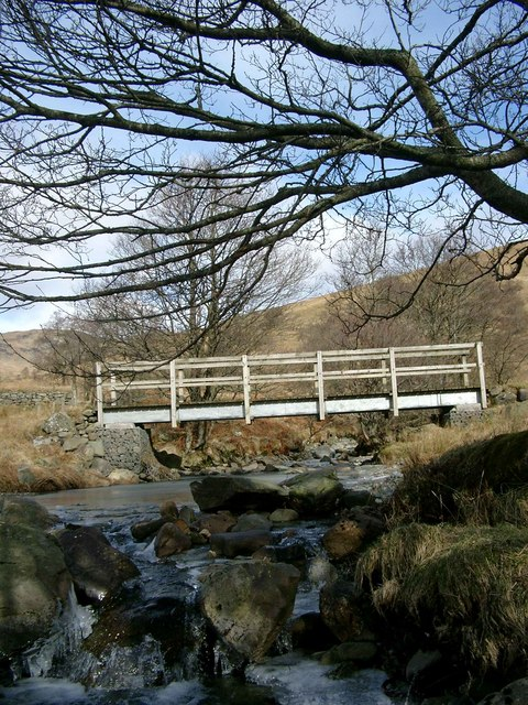 Bridge over the upper reaches of the Finglas Water