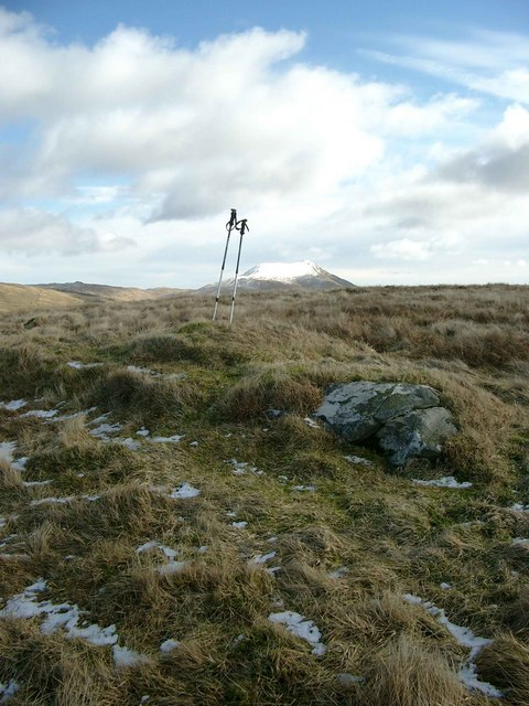 Summit of Meall Cala