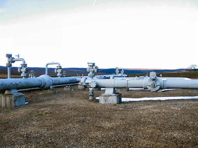 Gas Pipeline at Moscar
