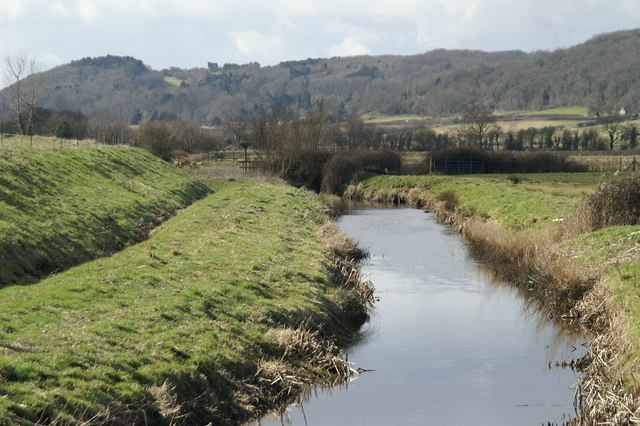 Rhyne on  Weston Moor