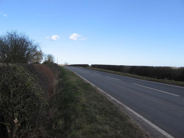 road into Sutton Cheney