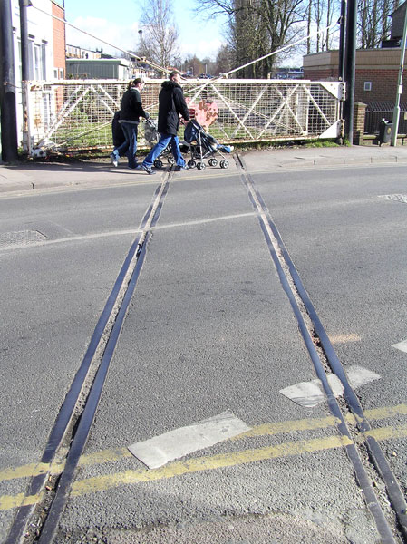 Level crossing, Coalville