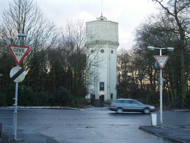 Water Tower at High Legh