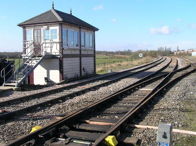 Signal box, Bardonhill