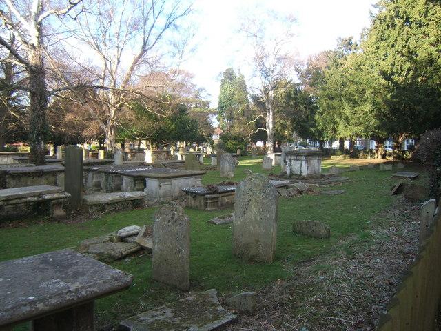 Churchyard of St Martin of Tours, Epsom