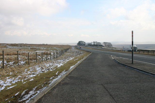 A66 at Stainmore