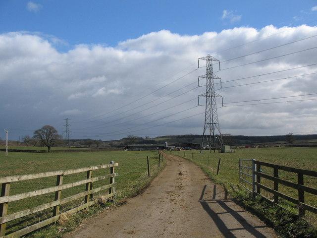 Road to Landmarks Farm