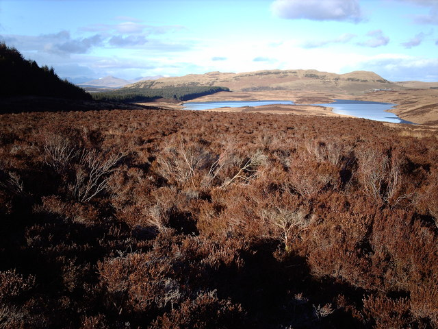 Daff Reservoir from Leap Moor