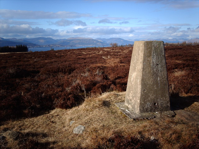 Trig Point on Blood Moss