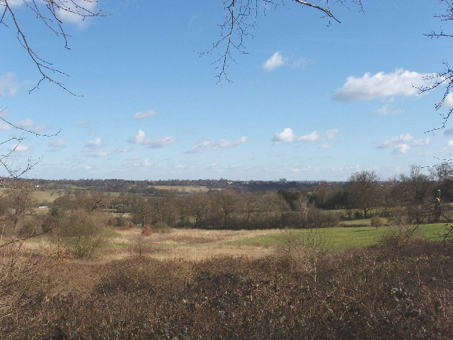Farmland between Mill Hill and Totteridge