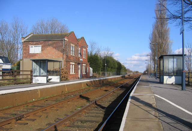 Swineshead Railway Station, Swineshead Bridge, Lincs