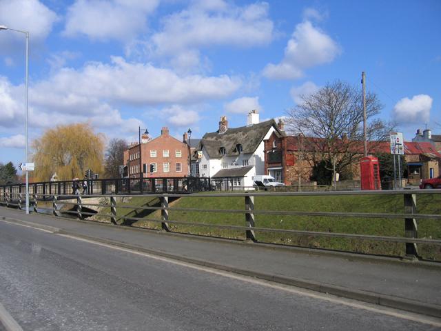 Bridge over the Welland, Spalding, Lincs