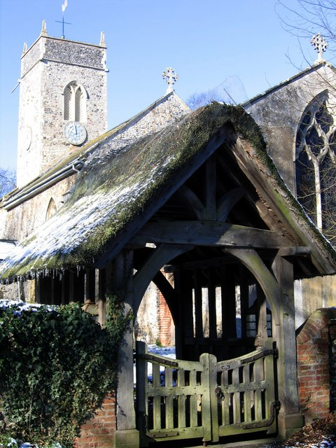 St Peter's lych gate
