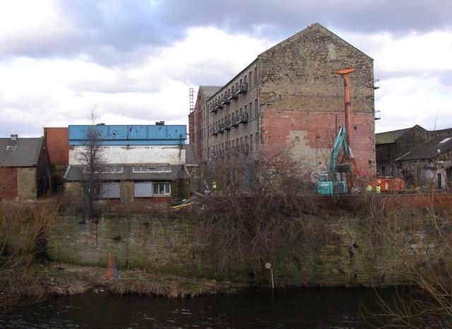 Ledgard Bridge Mill off Back Station Road, Mirfield (SE201194)