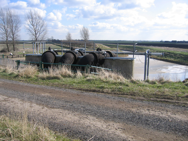 Drainage pumps, Corporation Bank, Crowland, Lincs