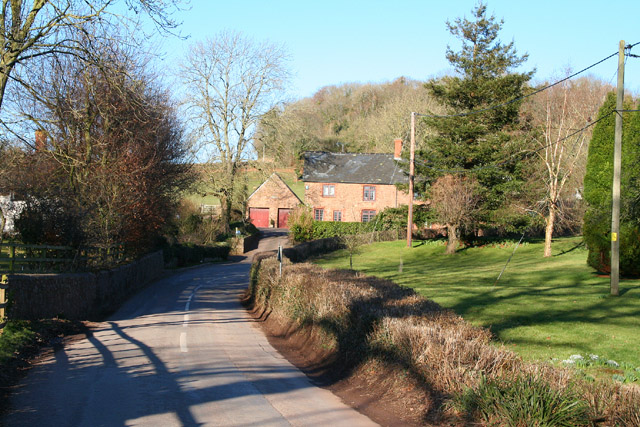 Wiveliscombe Without: road at Ford