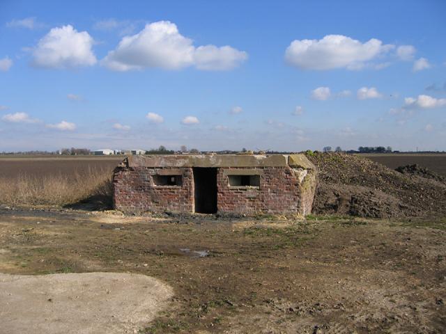 Pill Box, Speechley's Drove, Borough Fen, Peterborough