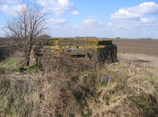 Pill Box, Speechley's Drove, Borough Fen, Peterborough