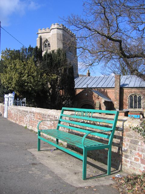 Parish seat and church, Cowbit, Lincs